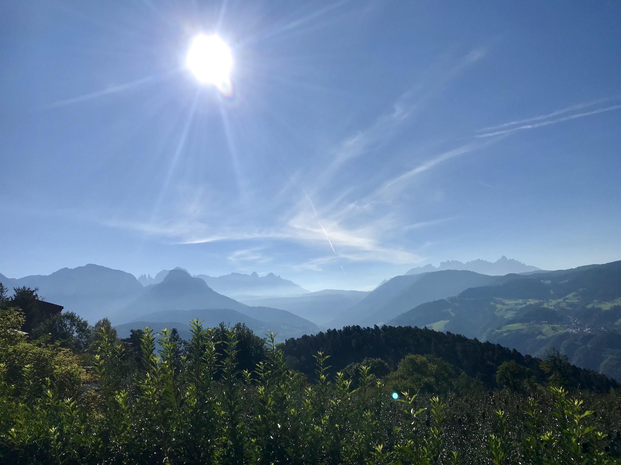 Trailen und Wandern in Südtirol 3. Tag