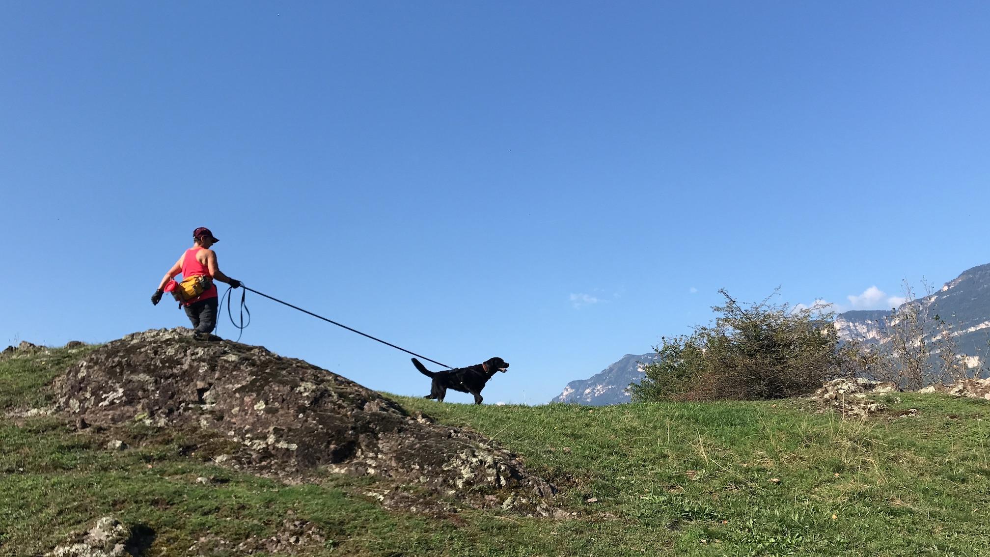 Trailen und Wandern in Südtirol 1. Tag
