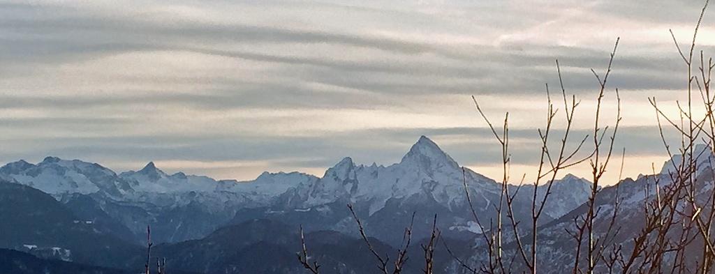 Winterseminar in Salzburg - Bergpanorama mit Watzmannblick