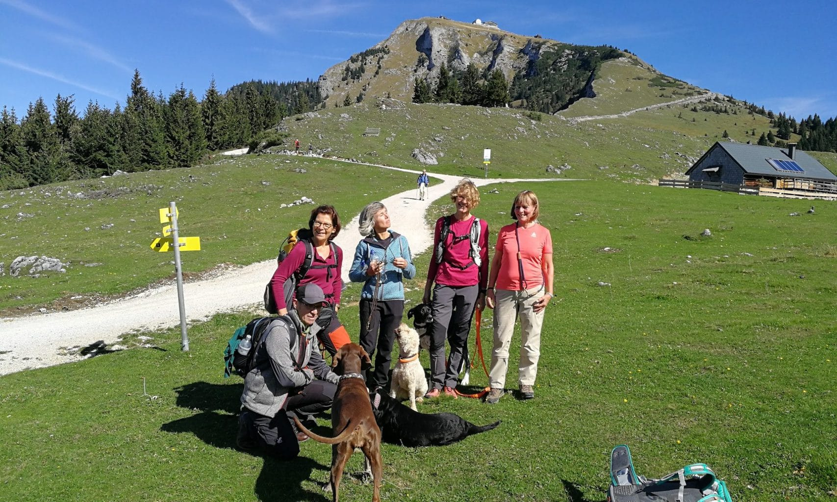 Trailen und Wandern im Salzburger und Berchtesgadener Land